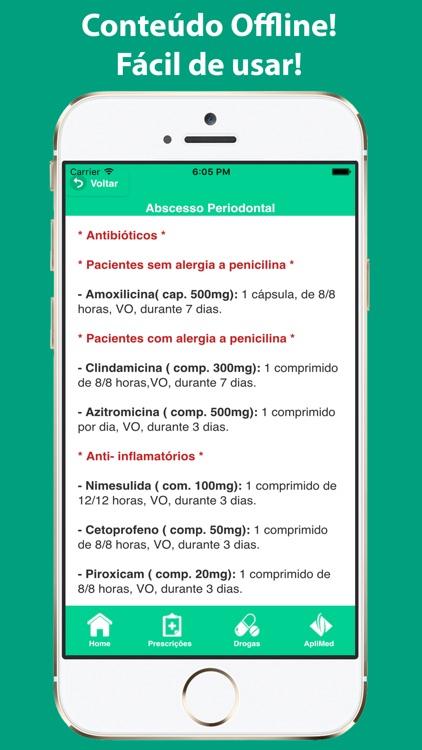 Prescrições Odontológicas screenshot-3
