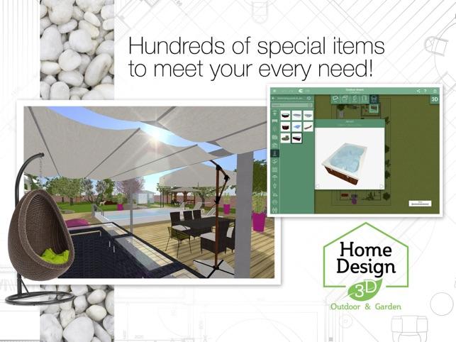 Home design 3d outdoor garden on the app store for Home design 3d outdoor garden full