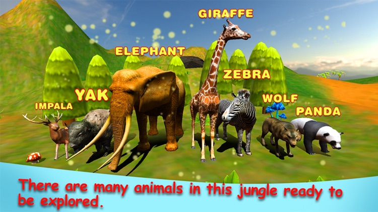 Jungle Animals in the Zoo : Let Your kid learn about Zebra, Lion, Dog, Cats & other wild animals - PRO