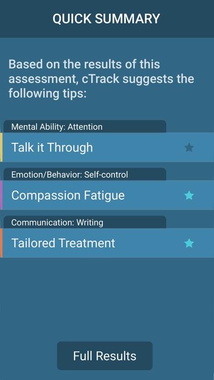 cTrack Memory Loss Monitoring for Caregivers screenshot-3