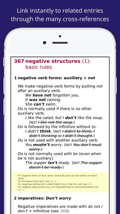 Practical English Usage by Michael Swan screenshot-4