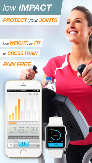 BeatBurn Elliptical Trainer - Low Impact Cross Training for Runners and Weight Lossのおすすめ画像2