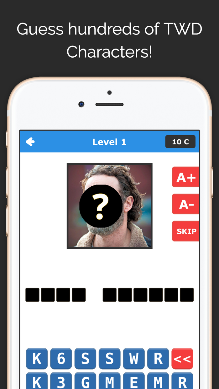 TWD Guess Quiz - Dead Trivia Fan Edition Screenshot