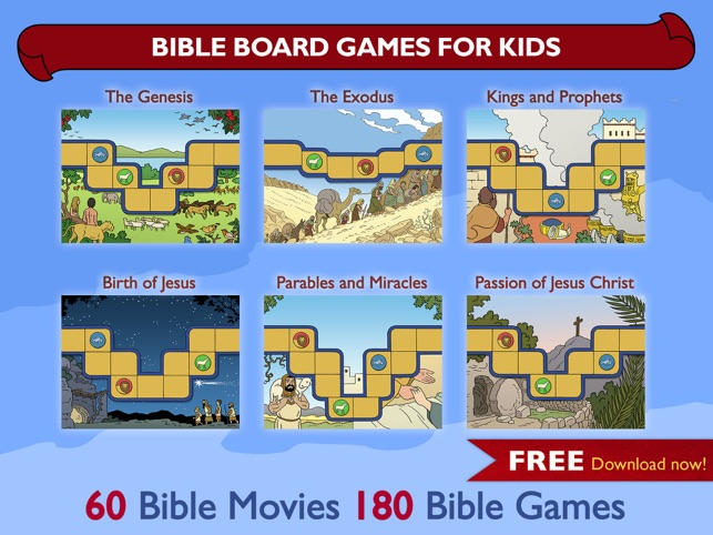 Bible Board Games for Kids on the App Store