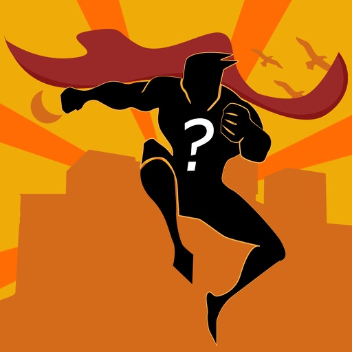 Comic Super.hero Quiz 2016 - How Many Popular Hero's Name Can You Guess? iOS App