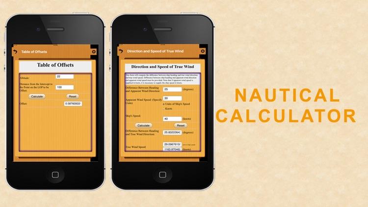 Nautical Calculator for mariners screenshot-4