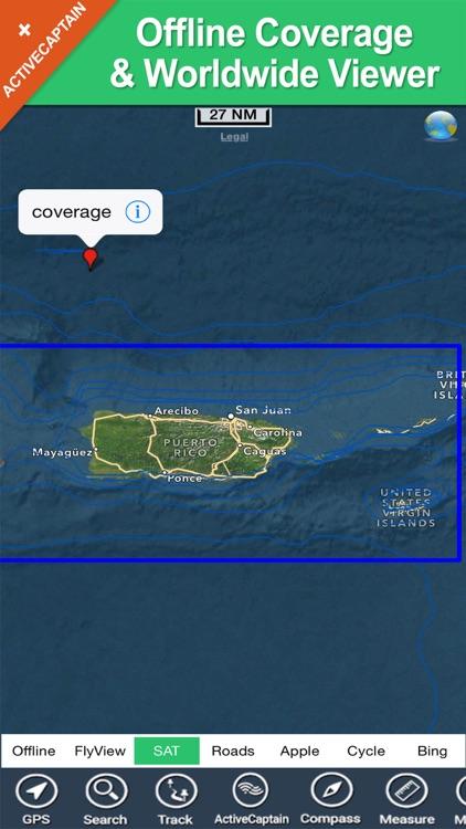 Porto Rico & Navassa Island GPS charts Navigator screenshot-4