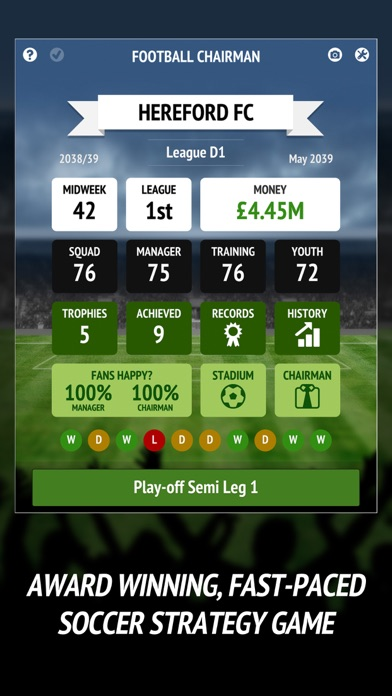 Football Chairman Pro Screenshots