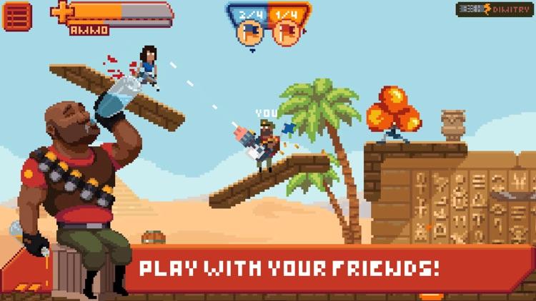 Gangfort - Online 2D Platformer Shooter screenshot-0