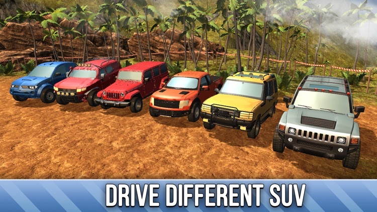 SUV 4x4 Rally Driving Full - Be a truck driver!