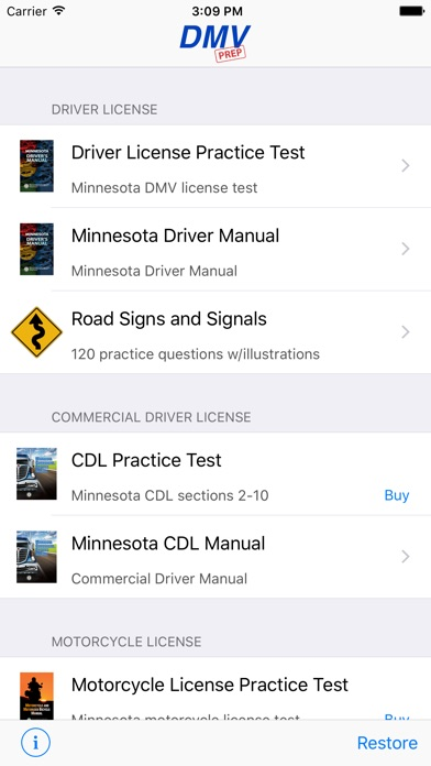 what to bring to your drivers test mn