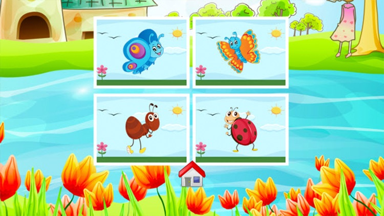 Insects Coloring Book - Drawing and Painting Colorful for kids games free screenshot-3