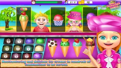 Ice Cream Fever Cooking Girls Game screenshot one