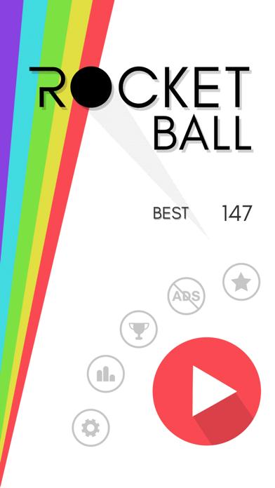 Rocket Ball - Endless Jump screenshot four