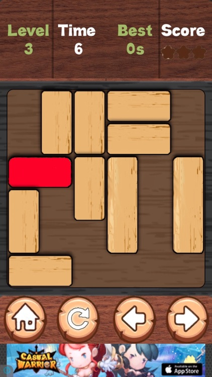 Unlock Red Block Free : Slide Block