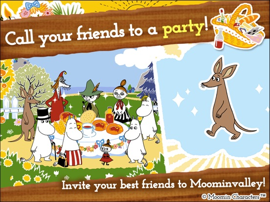 Игра MOOMIN Welcome to Moominvalley