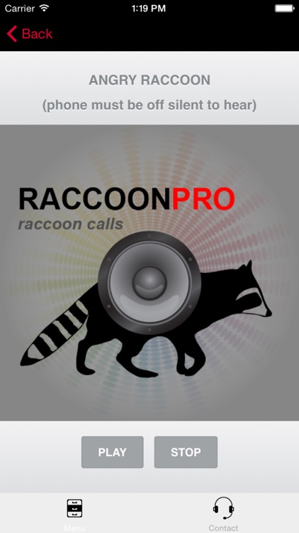 REAL Raccoon Calls and Raccoon Sounds for Raccoon Hunting screenshot-3