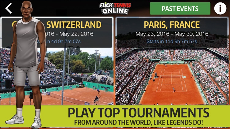 Flick Tennis Online - Play like Nadal, Federer, Djokovic in top multiplayer tournaments! screenshot-4
