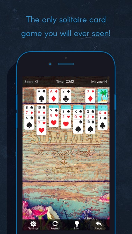 Solitaire Free - Spider Solitaire HiLow Card Poker screenshot-3