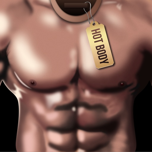 Muscle bodies - suit you up with a killer body app logo