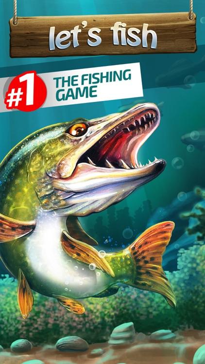 Let's Fish: Sport Fishing Games. Bass Simulator screenshot-0