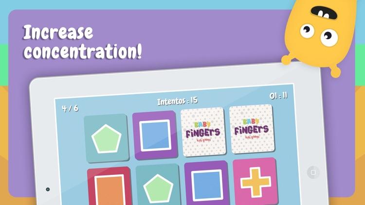 Baby Fingers Memory Cards Lite screenshot-3