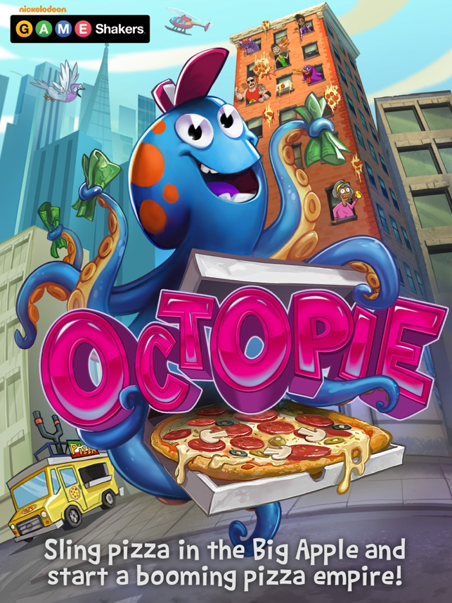 OctoPie - a Game Shakers App on the App Store