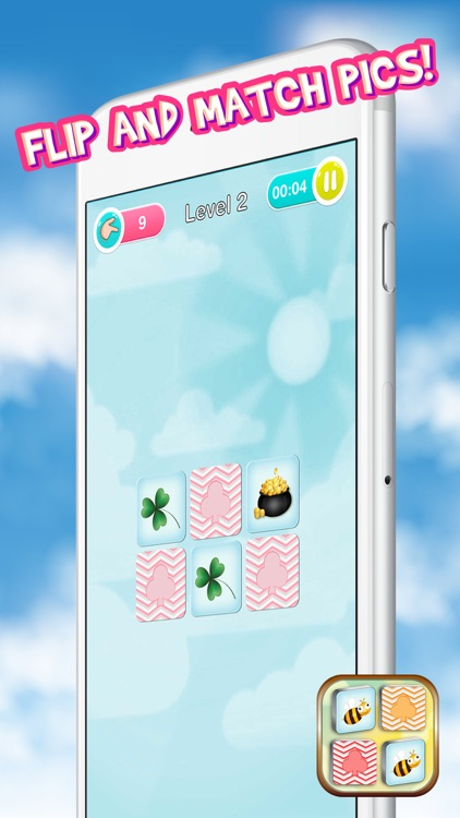 Best Memory Matching Game – Brain Train with Picture Card Pair.s for Kids and Adults screenshot-4