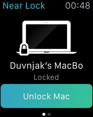 Near Lock - Блокируйте и Разблокируйте Ваш Mac Screenshot
