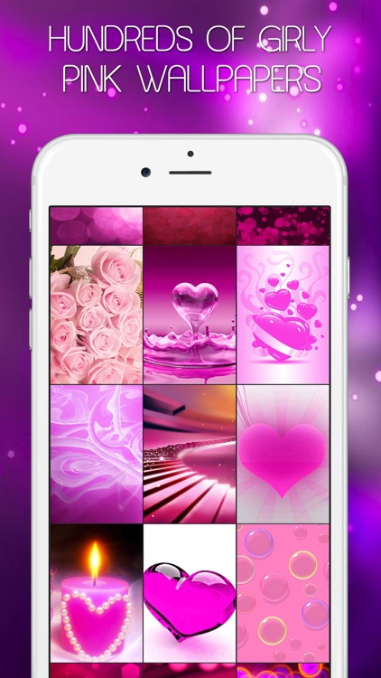 Colorful Girly Wallpapers & Pink Backgrounds HD - Live Pink Themes & Fairy Images for Girls