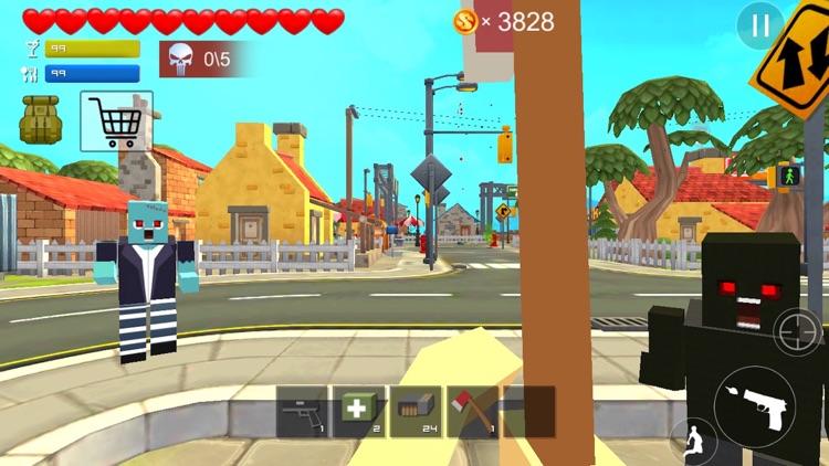 ピクセルガンシュート3D - ブロック市ナイパーコンバット