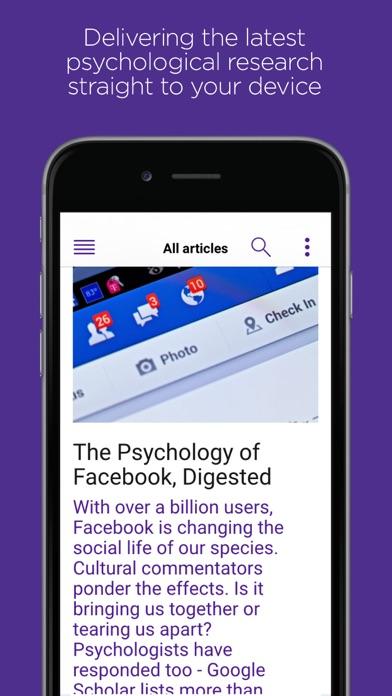 Research Digest screenshot one