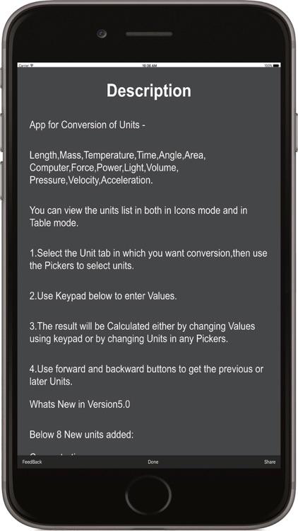 Unit Conversion - Just Convert Everything screenshot-3