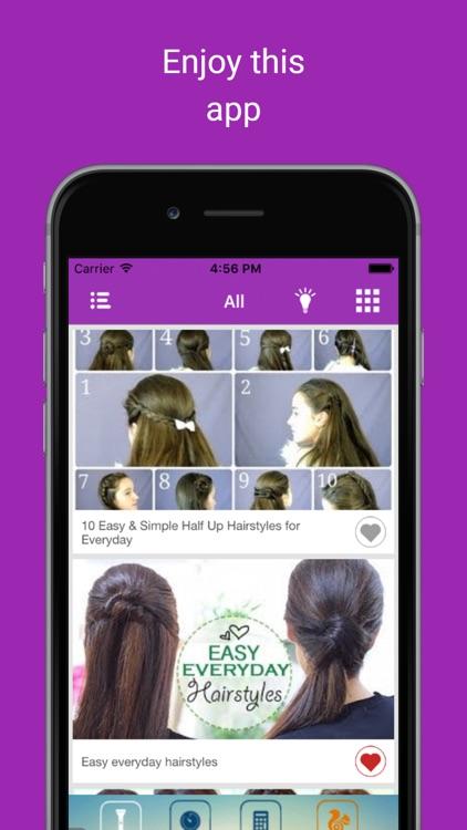 Latest hair style beauty videos: Women Makeup tips screenshot-4