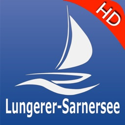 Lungern - Sarnen lakes GPS nautical charts pro
