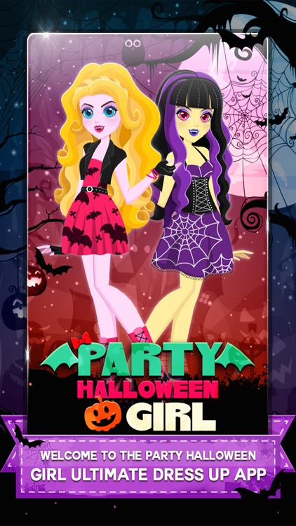 """ Descendants of Monster Girl "" Dress-up - Ever after Halloween hight party salon game screenshot-0"