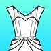 173.Fashion Design FlatSketch