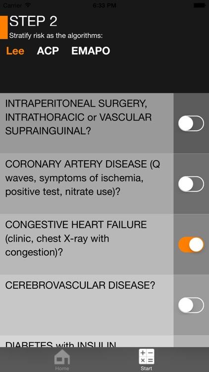 Perioperative risk