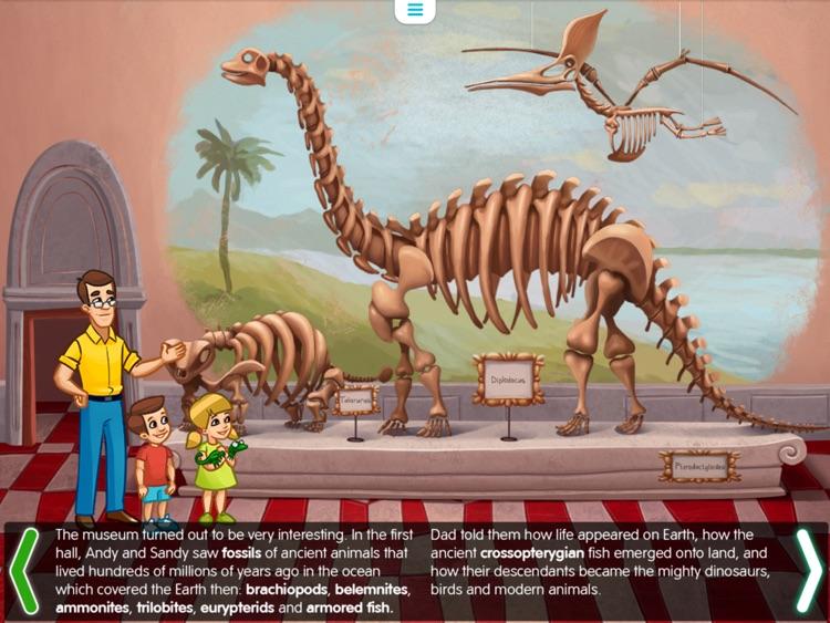 Planet of Dinosaurs. Interactive journey in the Jurrassic era. screenshot-3