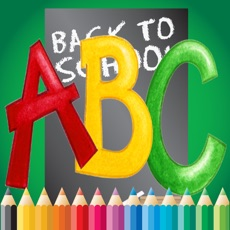 Activities of ABC Coloring Book for children age 1-10 (Alphabet Upper): Drawing & Coloring page games free for lea...