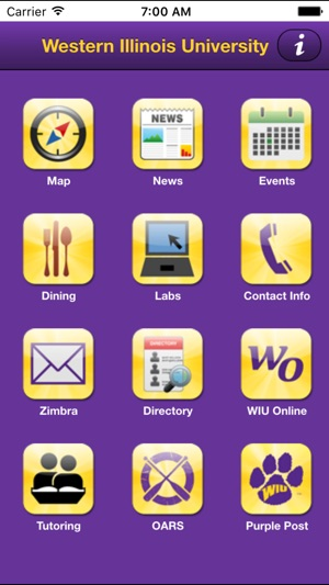 WIU Mobile en App Store on wiu quad cities campus, wiu moline campus, wiu campus map, wiu campus recreation,