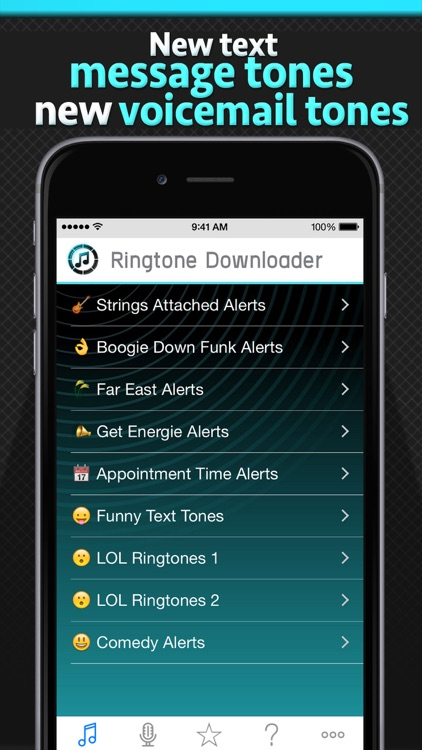 Free Ringtone Downloader - Download the best ringtones screenshot-2