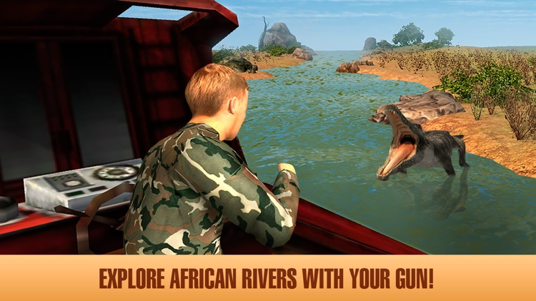 African Safari: Boat Hunting 3D Full