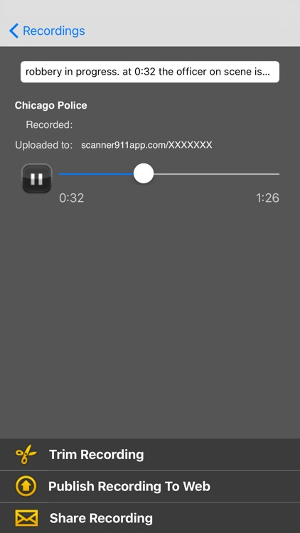 Scanner911 Pro screenshot-3