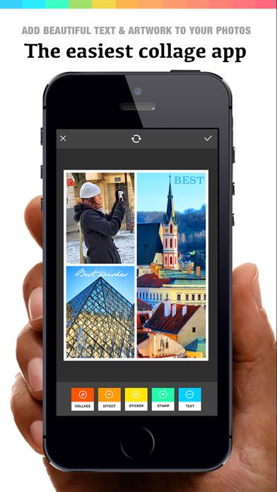 Collage 360 - photo editor, collage maker & creative design App ScreenShot0