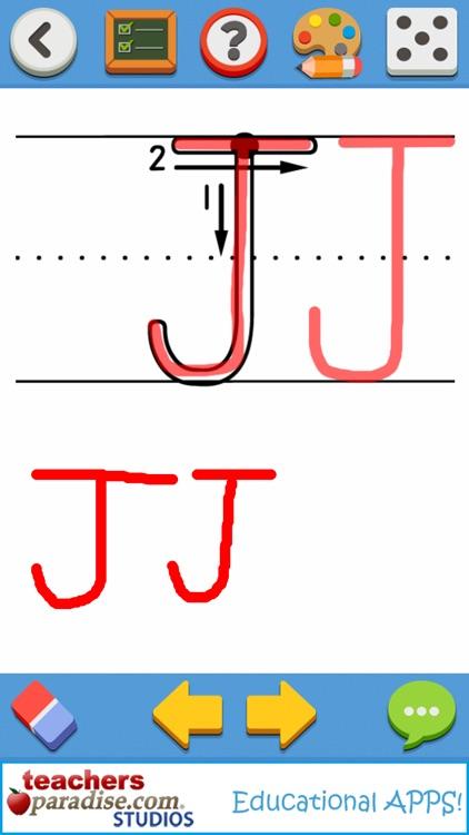 123s ABCs Preschool Learn HWOTP Kids Handwriting screenshot-4