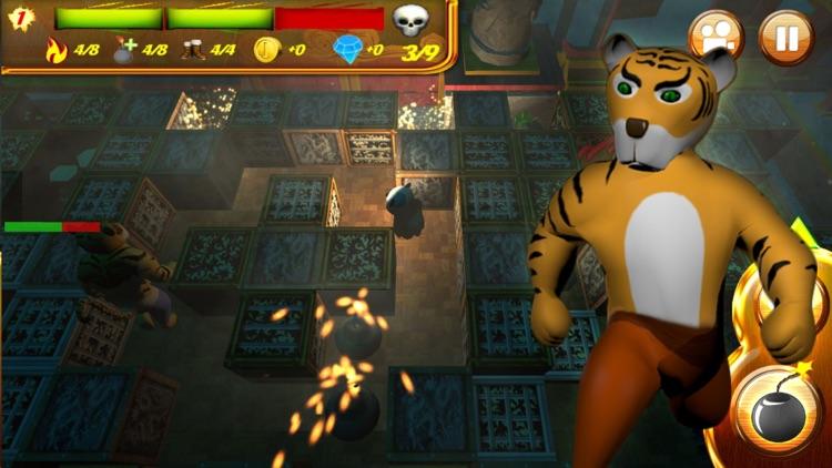 Panda Bomber in Dark Lands screenshot-4