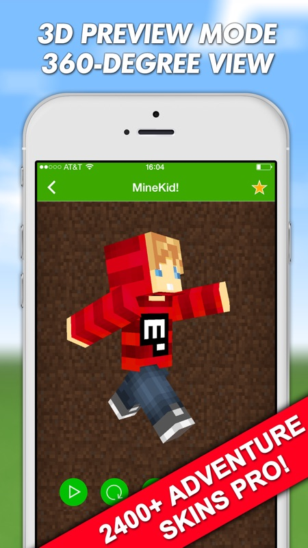 Adventure Skins Pro for Minecraft PE (Pocket Edition