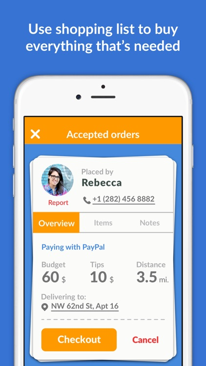 Buy For Me App - Delivery Food, Alcohol, Groceries