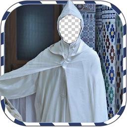 Arab Man djelaba Suit Photo Montage :latest And New Photo Montage